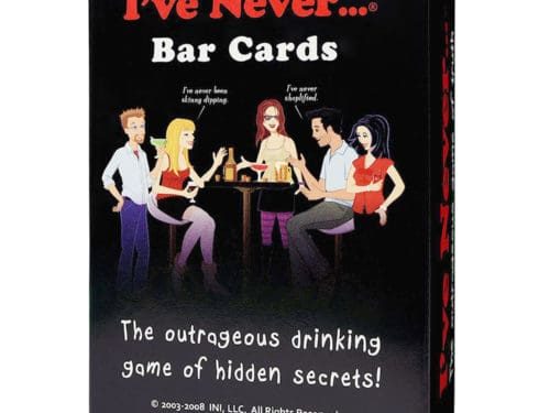 I have Never Bar Cards box