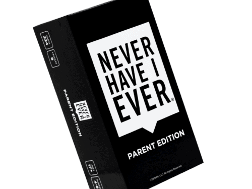 Never Have I Ever Game: Parent Edition Box