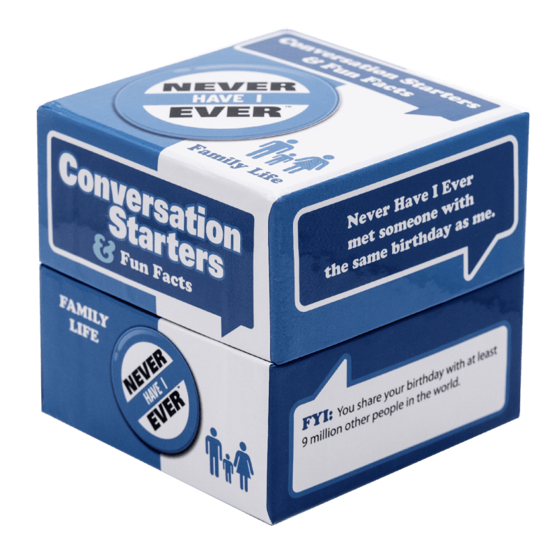 Conversation Starters Family Life box