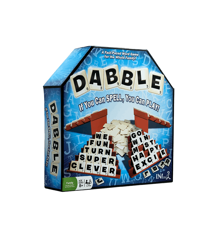 Dabble word game box