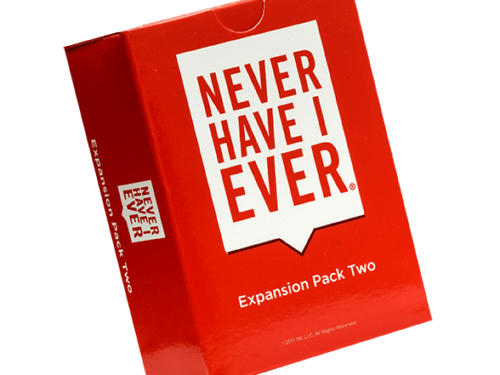 Never have I ever game expansion pack two box