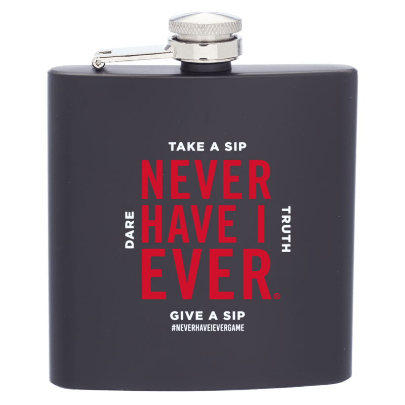 Never have i ever hip flask