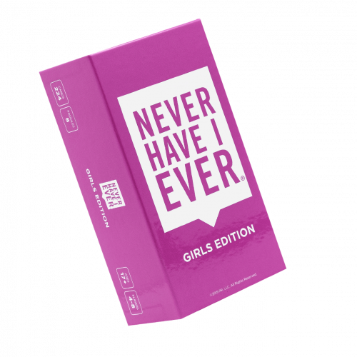 Never Have I Ever Game: Girls Edition Box